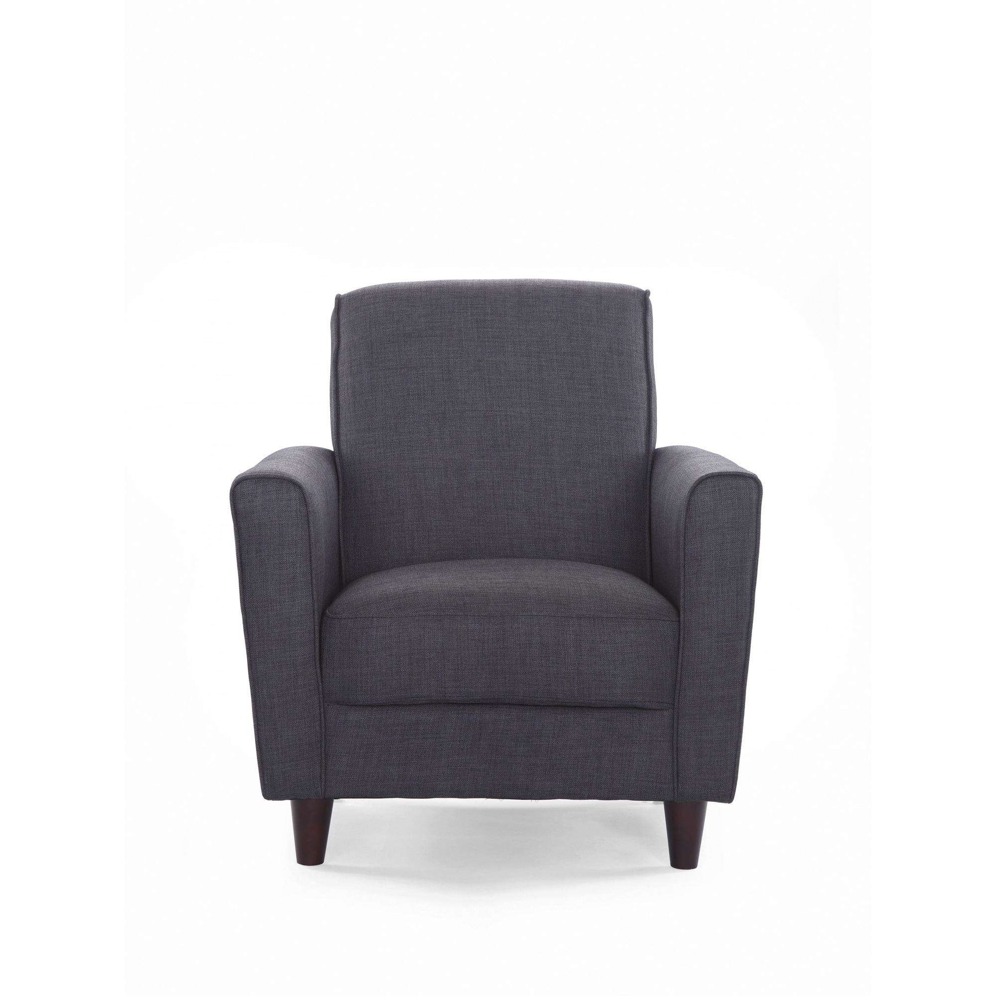 Exceptionnel DHI Enzo Arm Accent Chair, Solid Woven, Multiple Colors