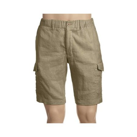 4323e8e255 Tommy Bahama - Tommy Bahama Men's Beach Linen Cargo Short - Walmart.com