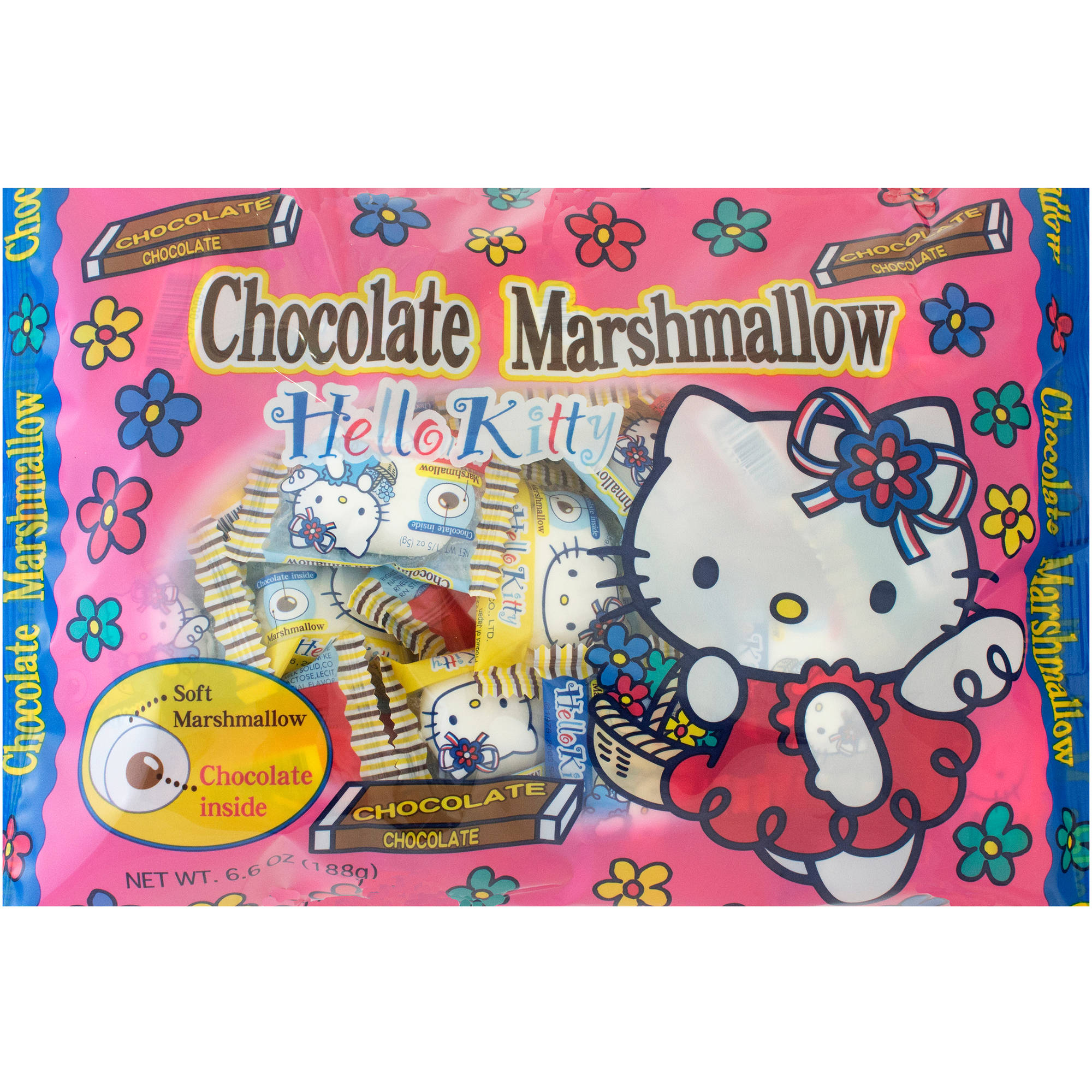 Hello Kitty Chocolate Marshmallows, 6.6 oz