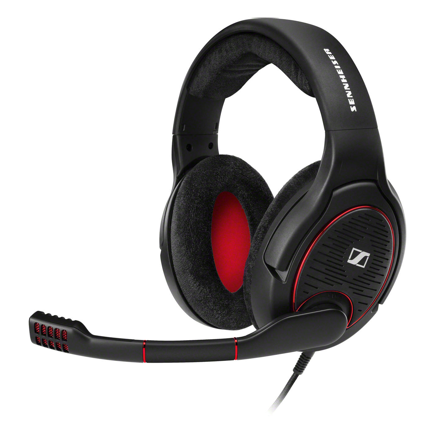 Sennheiser GAME ONE Gaming Headset, Black, 00615104257443