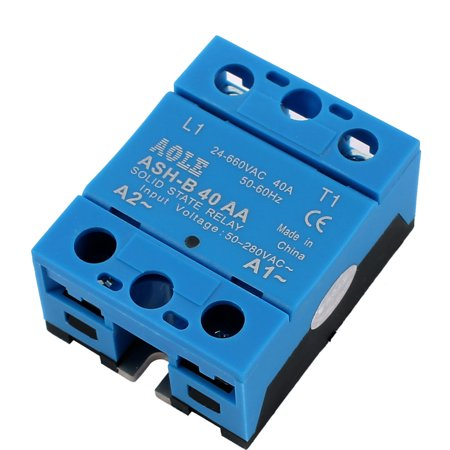 ASH-B40AA 50-280VAC à 480V 40A AC Relais état solide à AC Relais - image 4 de 4