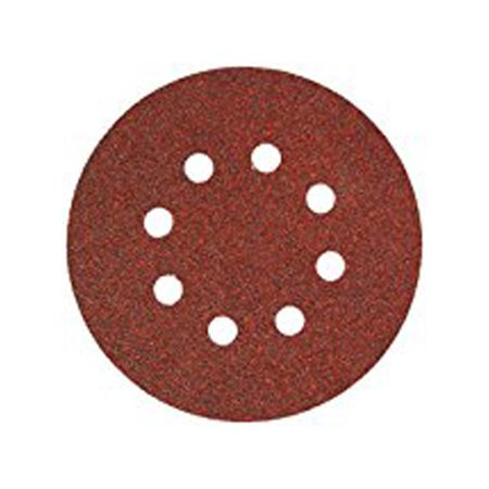 Ali Industries 3725 5 Pack 5  8 Hole Hook   Locking 60 Grit Disc