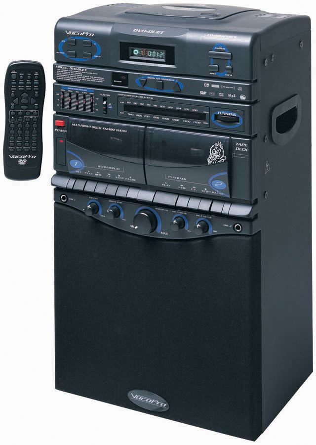 80W Karaoke Sys Dvd Cd G Mp3 by VocoPro