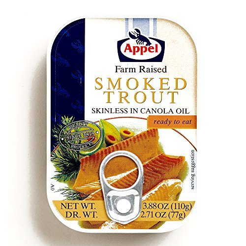 Appel Smoked Trout 3.88 oz each (2 Items Per Order) by