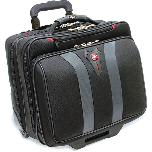 "SwissGear Granada Wheeled Case for 17"" Laptops, Black by SWISSGEAR"