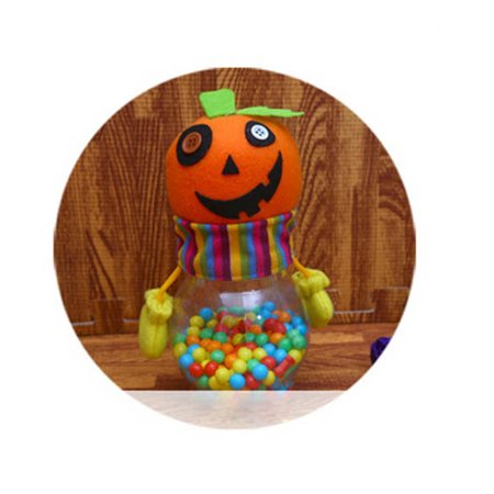 Zombie Halloween Food Ideas (Halloween Creative Plastic Candy Jar Pumpkin Ghost Cat Zombie Candy Box Candies Bottle Birthday Party Favors Sweets)