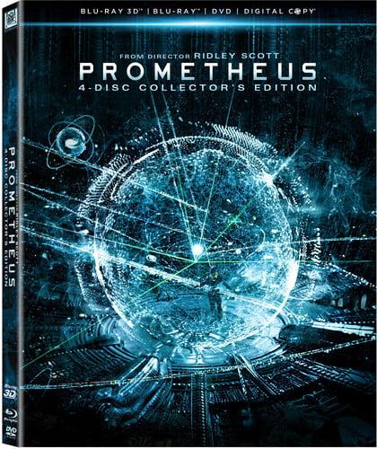Prometheus (Blu-ray 3D + Blu-ray + DVD + Digital Copy)