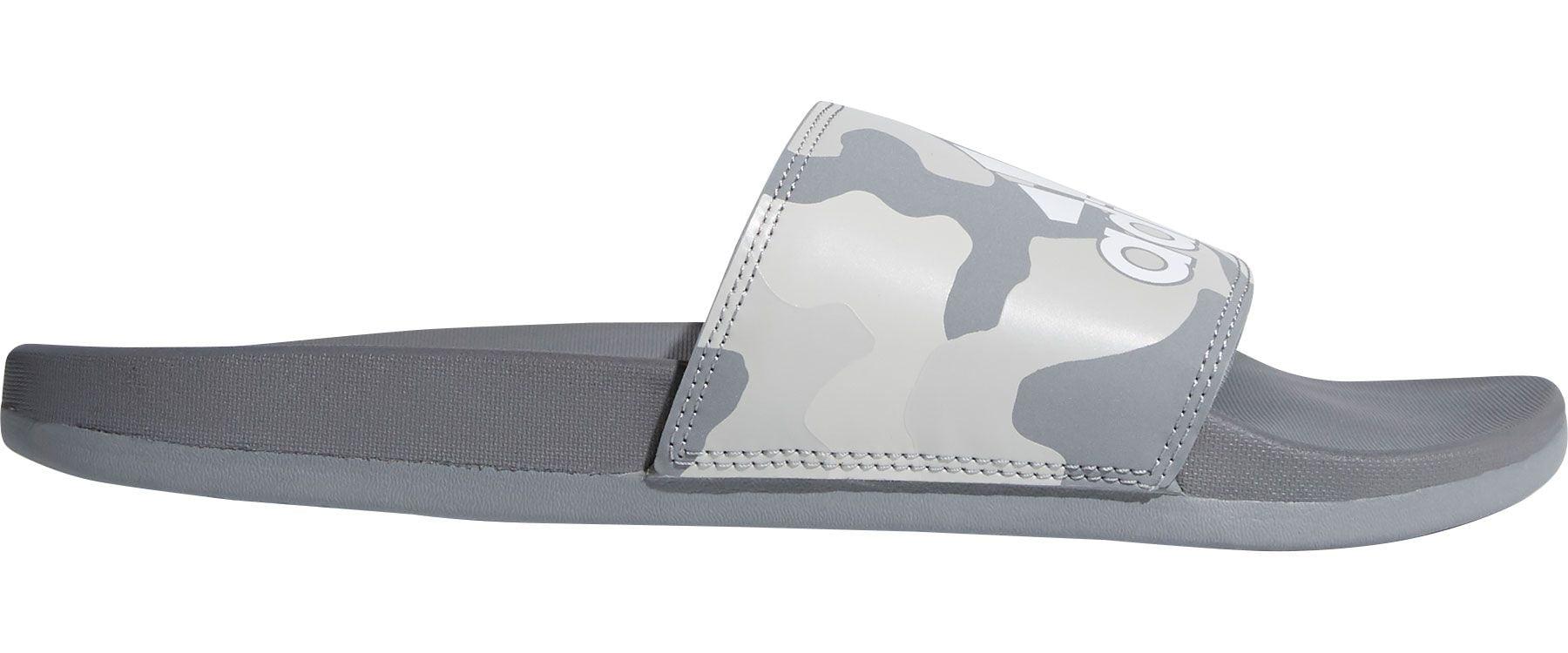 new styles 1926c 2bfc6 adidas Mens Adilette CloudFoam Plus Graphic Slides - Walmart