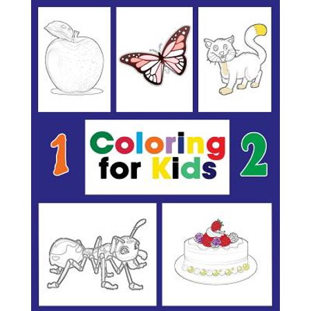 Coloring for Kids : An Amazing Alphabet Books, Circle the Words Is for Begin with the Letter A to Z and Color Them Also Count and Color (Things That Begin With The Letter Z)