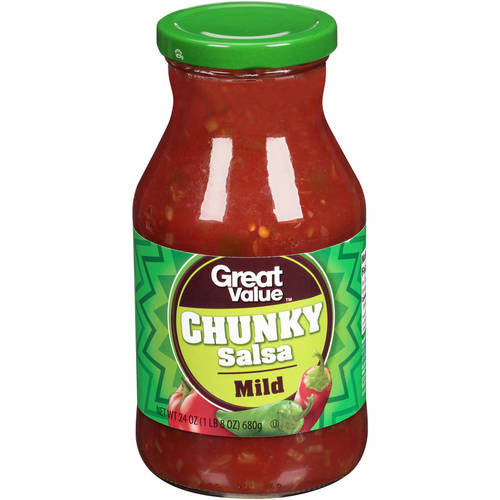 Great Value Mild Thick & Chunky Salsa, 24 oz