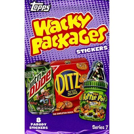 Wacky Packages Series 7 Trading Card Sticker