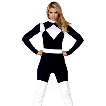 Women's Vigorous Black Ranger Costume for $<!---->