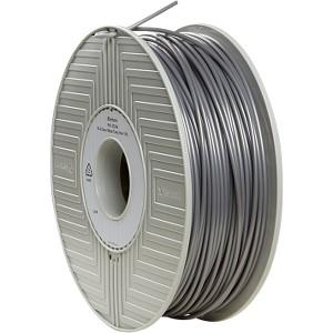 Verbatim Pla 3d Filament 3mm 1kg Reel - Silver - 3mm (55266)