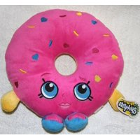 "plush - shopkins - d'lish donut 10.5"" soft doll toys new 149976"