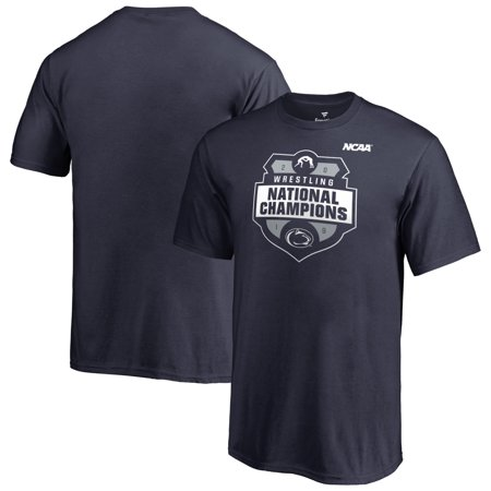 Penn State Nittany Lions Fanatics Branded Youth 2019 NCAA Wrestling National Champions T-Shirt - Navy