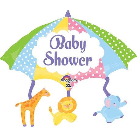 Anagram International Baby Shower Mobile Shape, 32