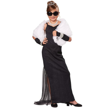 Hollywood Diva Child Costume - Hollywood Horror Costumes