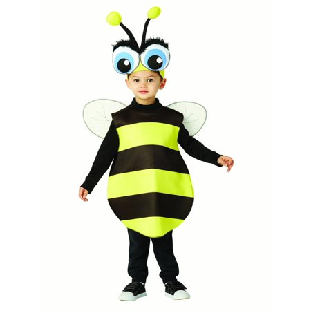 Big Eyed Bee Child Halloween Costume, One Size, (3-4) - Halloween Motion Sensor Eyes