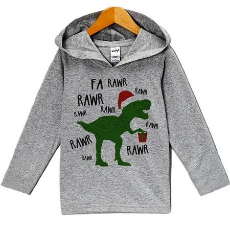 Custom Party Shop Baby's Christmas Dinosaur Hoodie - (Custom Hoodie)