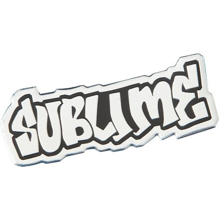 C&D Visionary Sublime Logo Metal Heavy Metal Sticker Heavy Metal Stickers
