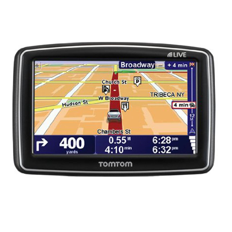 Tomtom Xl 340s Gps Portable Touchscreen 4 3 Quot Navigation