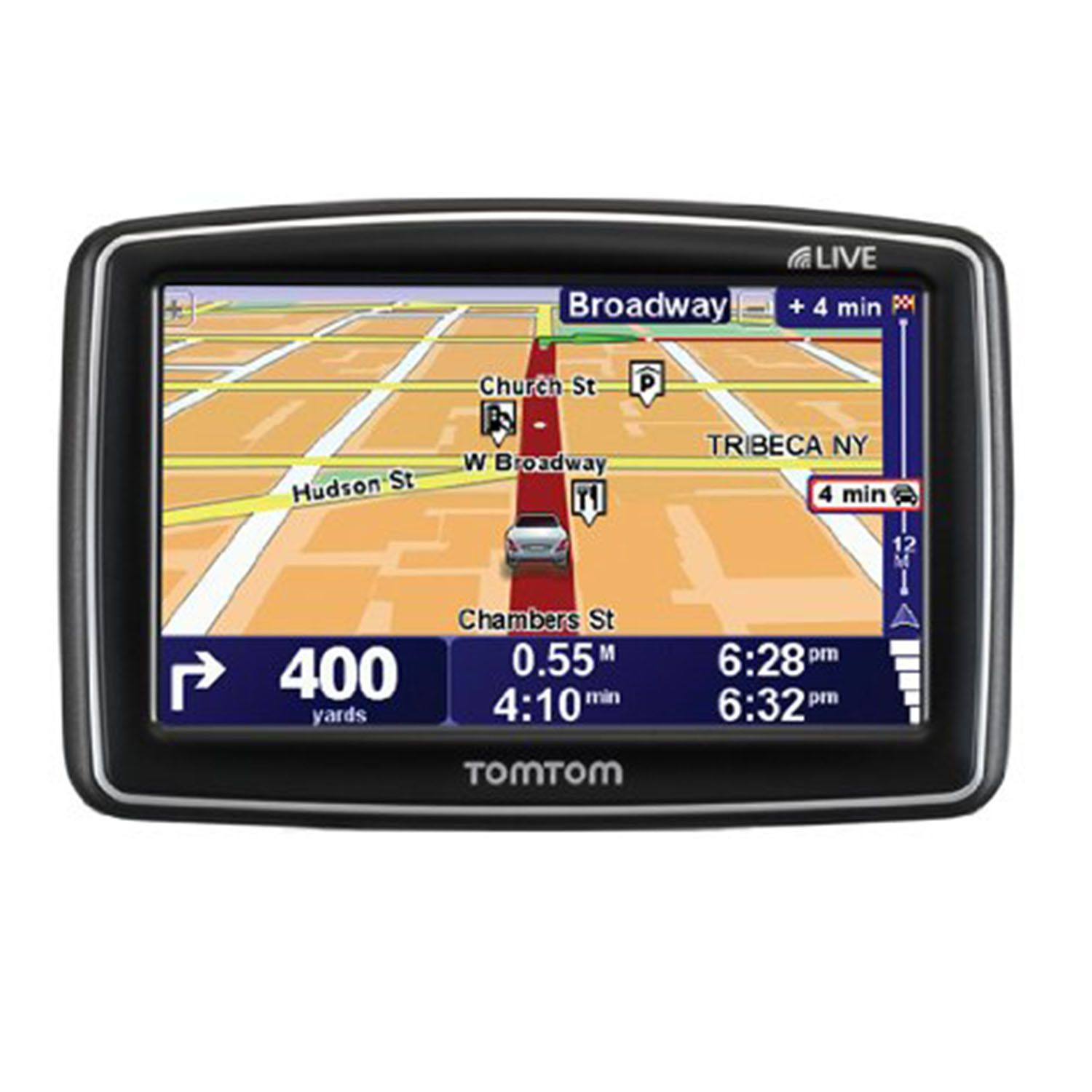TomTom XL 340S 4.3 Touchscreen Portable GPS System w/USA ...