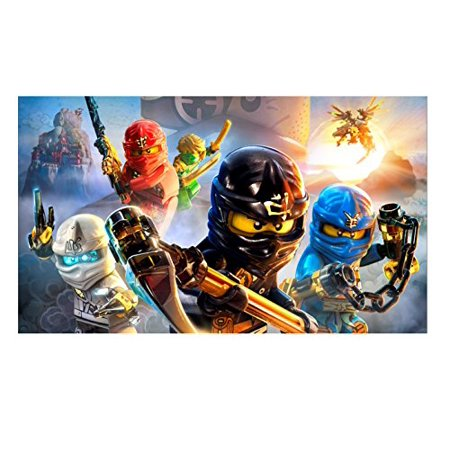Ninjago Ninja Lego Edible Image Photo Cake Topper Sheet Birthday Party Event