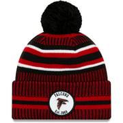 Atlanta Falcons New Era Youth 2019 NFL Sideline Home Sport Knit Hat - Black/Red - OSFA