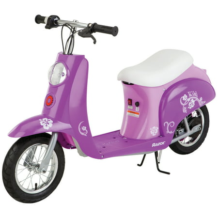 Razor Pocket Mod 24-Volt Electric Powered Scooter Kiki Purple