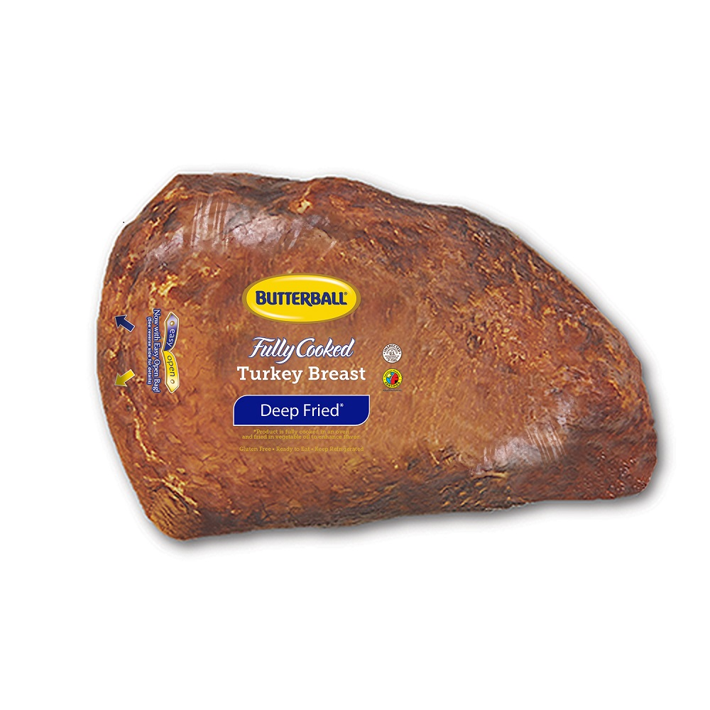 Fresh Butterball Fully Cooked Deep Fried Turkey Breast, 2.5-3.5lbs