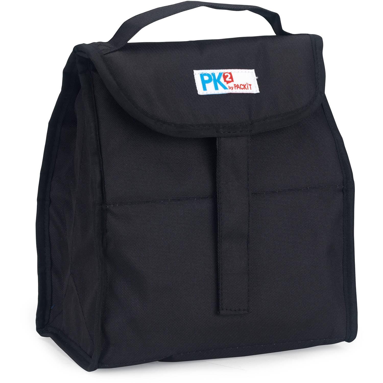 PackIt PK2 Lunch Sack, Black