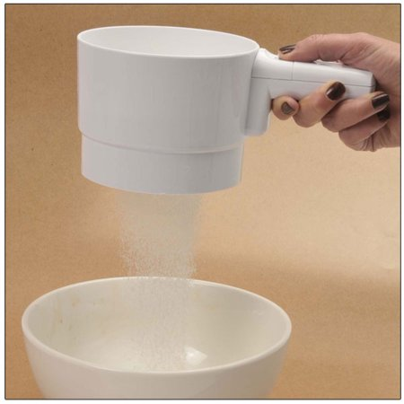 - Battery Operated Flour Sifter