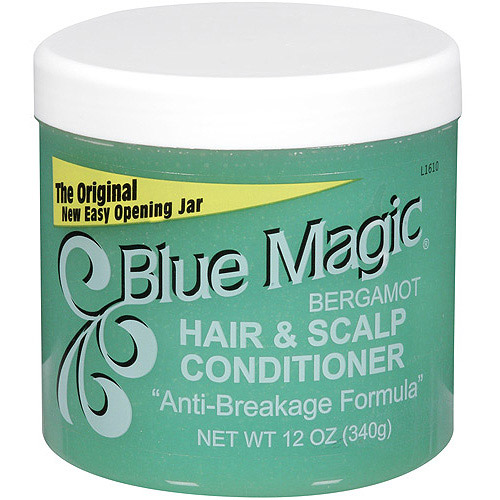 Blue Magic Bergamot Hair and Scalp Conditioner, 12 oz