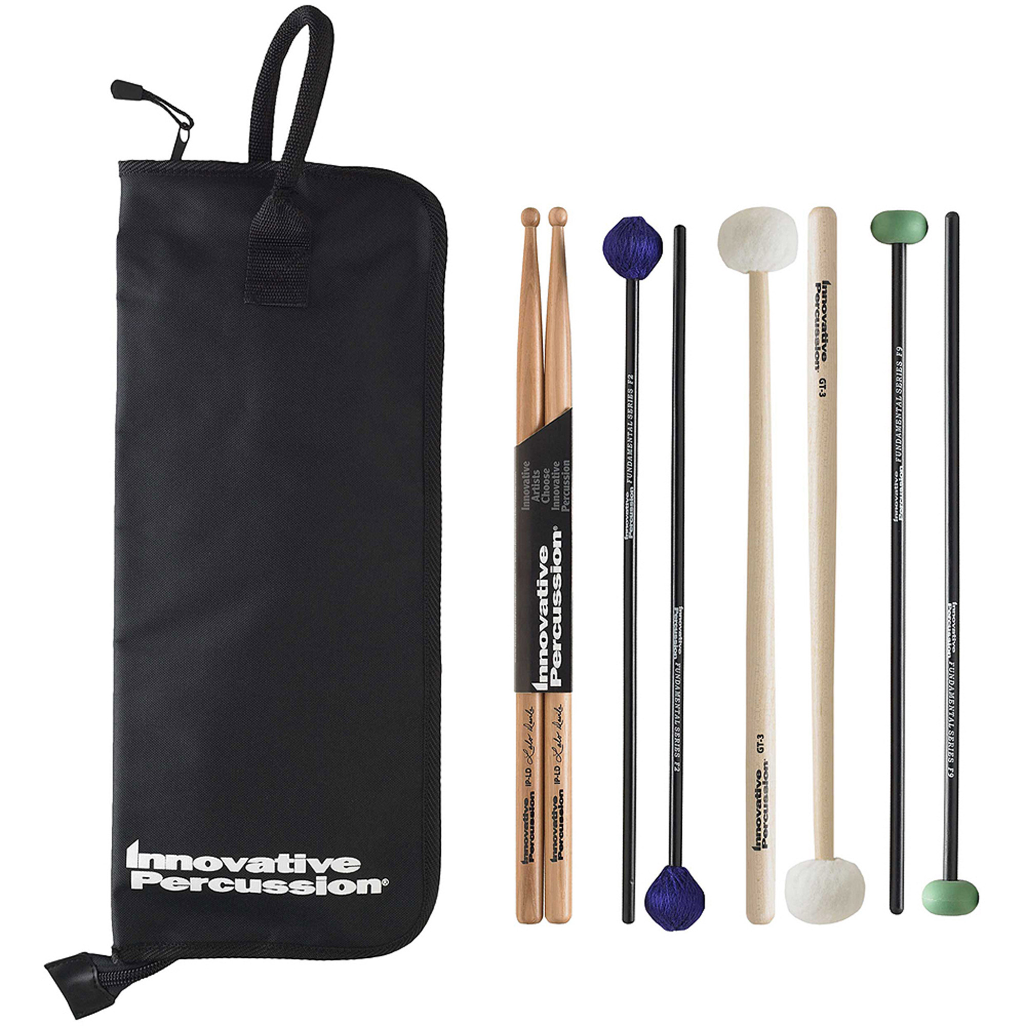 Innovative Percussion FP2 Fundamental Series Intermediate Pack w/ Stick Bag