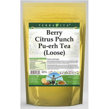 Berry Citrus Punch Pu-erh Tea (Loose) (4 oz, ZIN: 545130) - 2-Pack