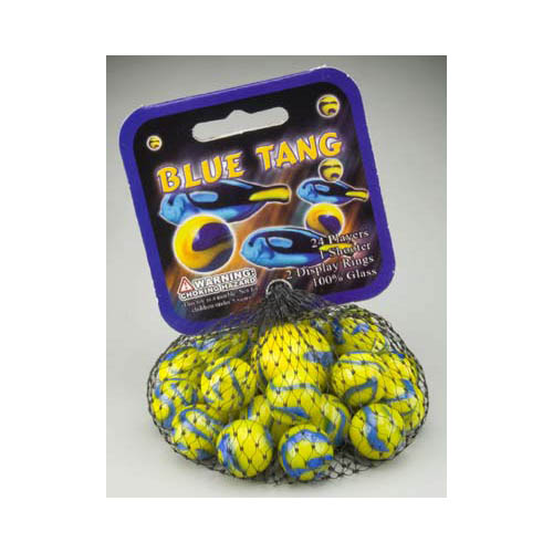 77755 Blue Tang Marbles Multi-Colored