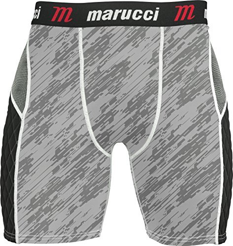 Marucci Youth Padded Sliding Short With Cup Maslcp  - Ships Directly From Maruc