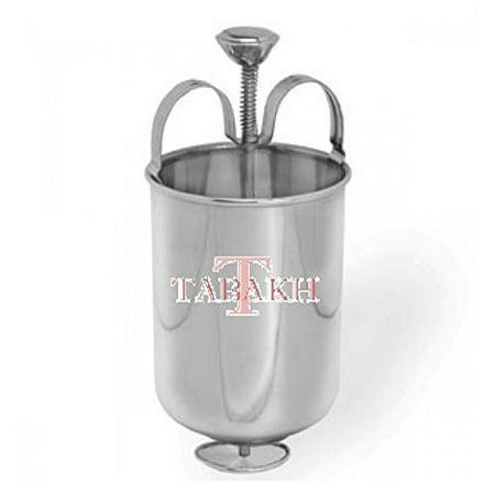 - Tabakh TMM-111 Medu Wada Vada Donut Maker Dispenser, Stainless Steel