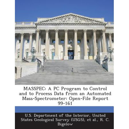 Masspec : A PC Program to Control and to Process Data from an Automated Mass-Spectrometer: Open-File Report