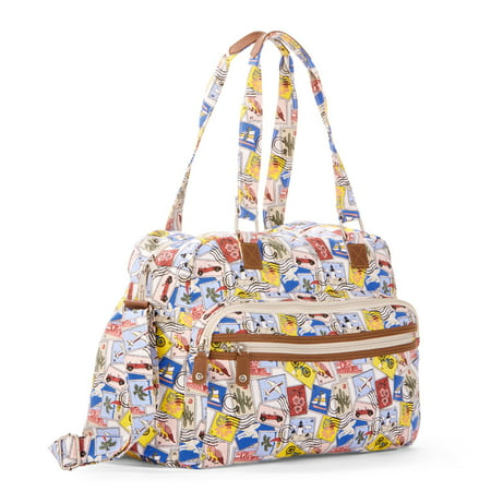 Time and Tru Kayla Weekender Bag