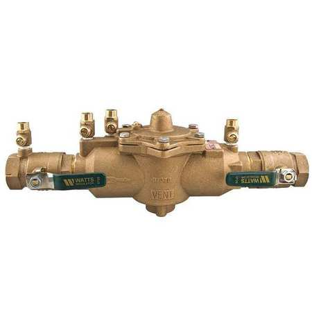 WATTS 1 LF009M2-QT Reduced Pressure Zone Backflow