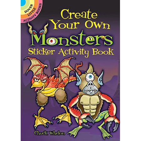 Create Your Own Monsters Sticker Activity Book - Monster High Activity Journal
