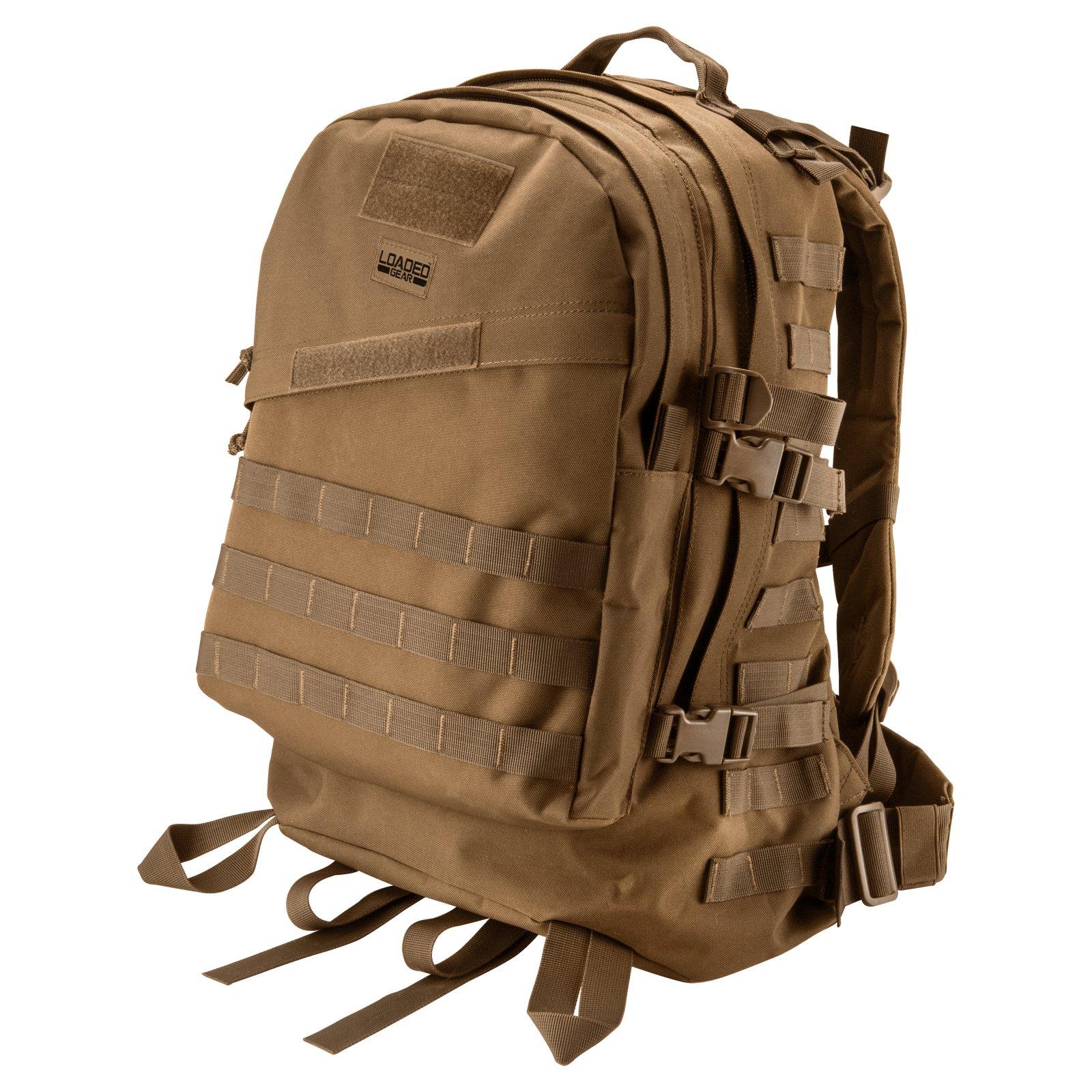 Loaded Gear by Barska GX-200 Tactical Backpack, Green