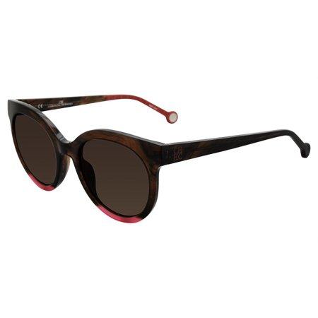 c2c33388e5 CH by Carolina Herrera - Sunglasses CH by Carolina Herrera SHE 745 Brown  Horn 06YH - Walmart.com