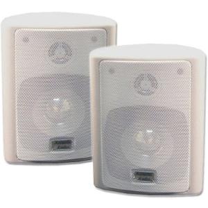 Acoustic Audio 151B Indoor/Outdoor Speakers (Black, 2)