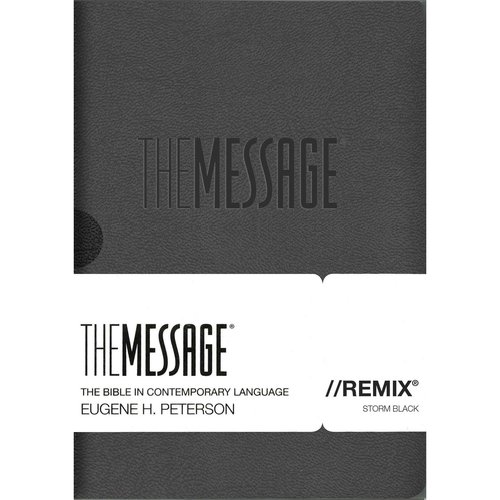 The Message//Remix: The Bible in Contemporary Language, Storm Black