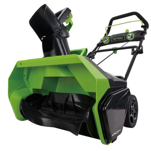 Click here to buy Greenworks DigiPro GMAX 40V 20 in. Cordless Lithium-Ion Snow Thrower, Battery Not Included 2601102 by Sunrise Global Marketing.