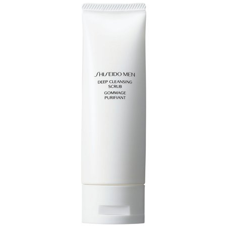 Best Shiseido Men Deep Cleansing Scrub, 4.2 Oz deal