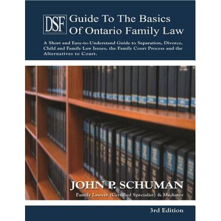 - The Devry Smith Frank Guide to the Basics of Ontario Family Law, 3rd Edition - eBook
