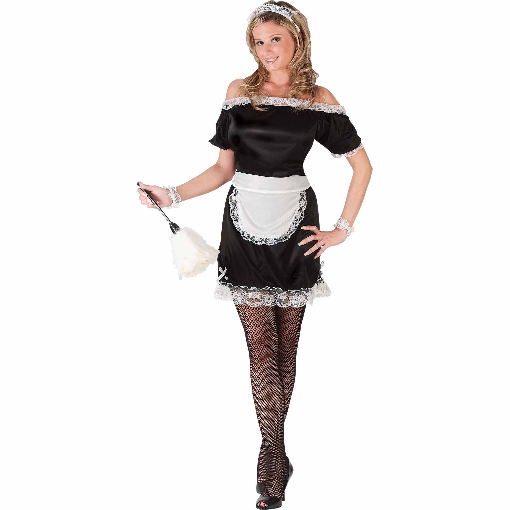 sc 1 st  Walmart & Fun World French Maid Adult Halloween Costume - Walmart.com